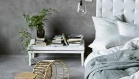 υπνοδωμάτια με τσιμεντένιο τοίχο2