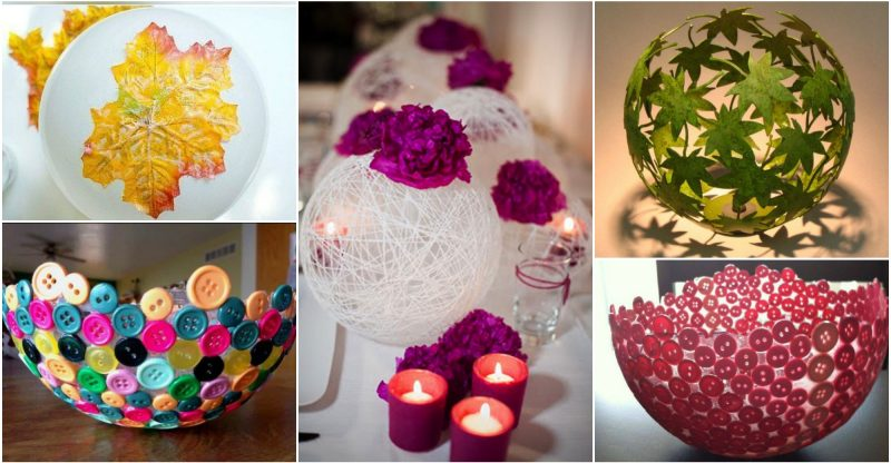 DIY έργα με μπαλόνια