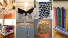 DIY ιδέες από PVC σωλήνες