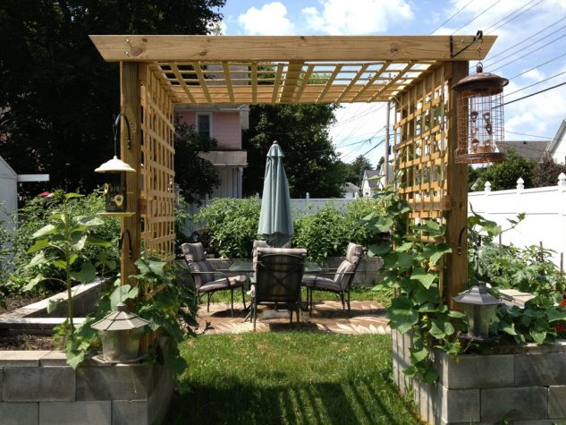 DIY ιδέες κήπου με μπλόκα12
