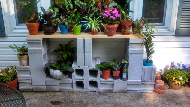 DIY ιδέες κήπου με μπλόκα4