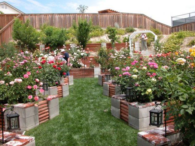 DIY ιδέες κήπου με μπλόκα7