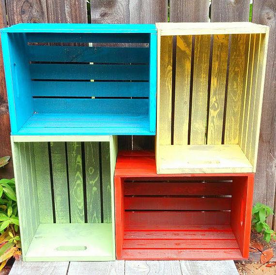 DIY πολύχρωμα ξύλινα καφάσια5