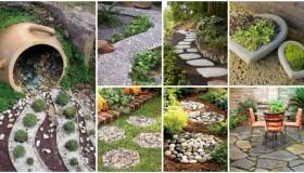 Decor κήπου με πέτρες