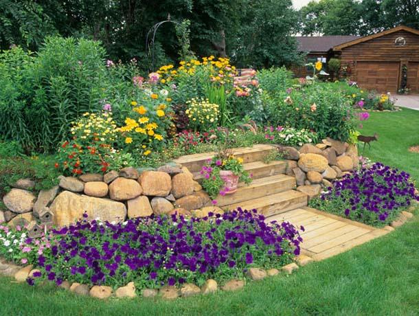 Decor κήπου με πέτρες10