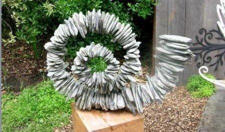 Decor κήπου με πέτρες13