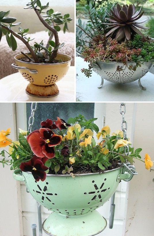 diy ιδέες για γλάστρες κήπου1