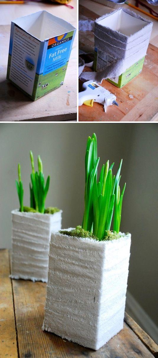 diy ιδέες για γλάστρες κήπου5