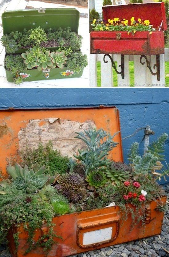 diy ιδέες για γλάστρες κήπου6