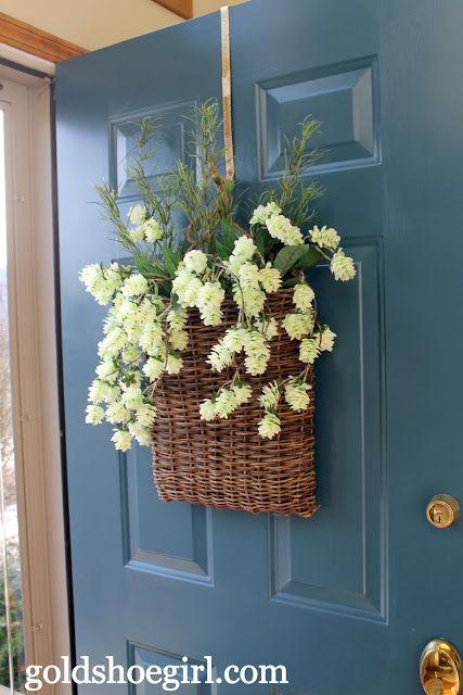 ανοιξιάτικη διακόσμηση πόρτας9