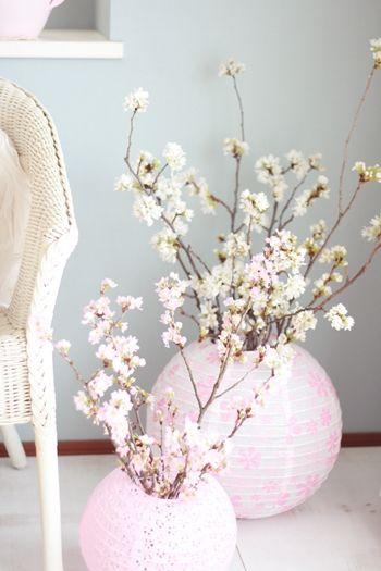 διακόσμηση με ανθισμένες κερασιές14