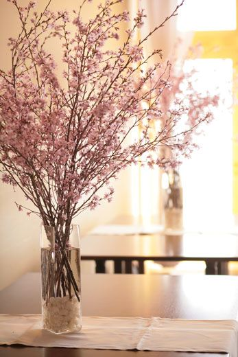 διακόσμηση με ανθισμένες κερασιές15