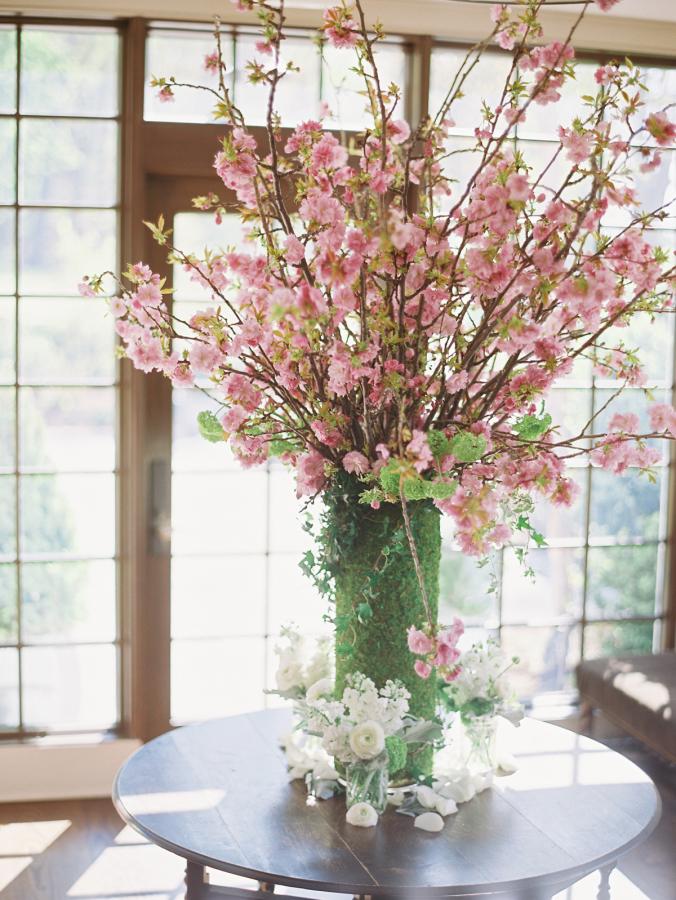 διακόσμηση με ανθισμένες κερασιές6