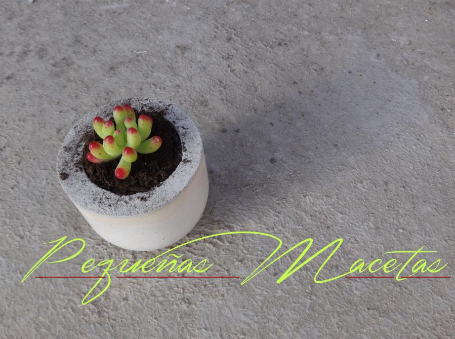 Μικρές DIY γλάστρες από τσιμέντο1