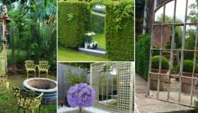 καθρέφτες κήπου