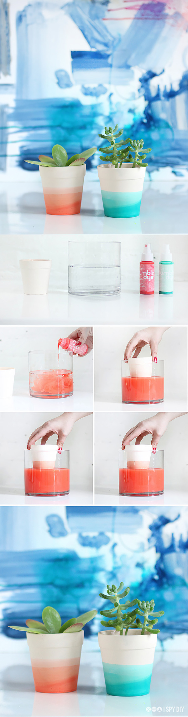 DIY ιδέες με γλάστρες15