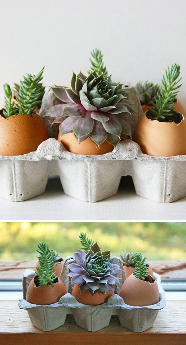 DIY ιδέες με γλάστρες39