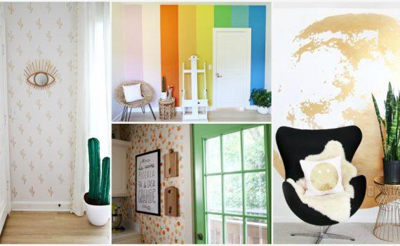 ιδέες για διακοσμητικό βάψιμο τοίχου