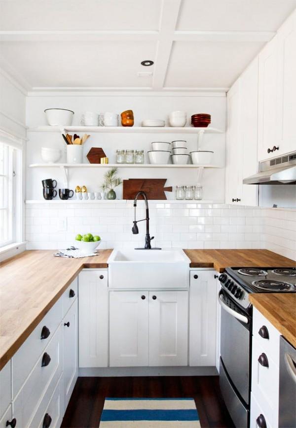 ιδέες για μικρές κουζίνες24