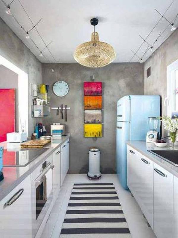 ιδέες για μικρές κουζίνες26