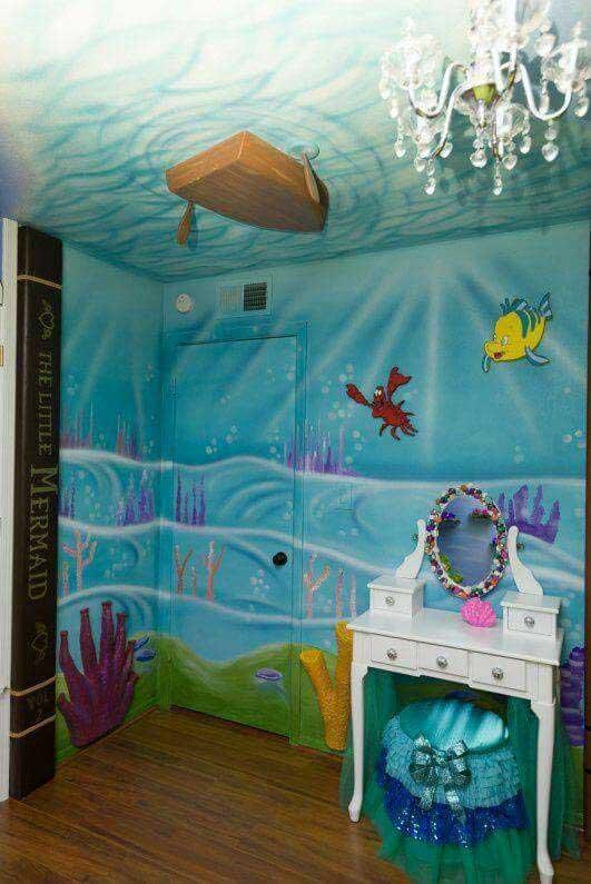 παιδική διακόσμηση κάτω από τη θάλασσα13