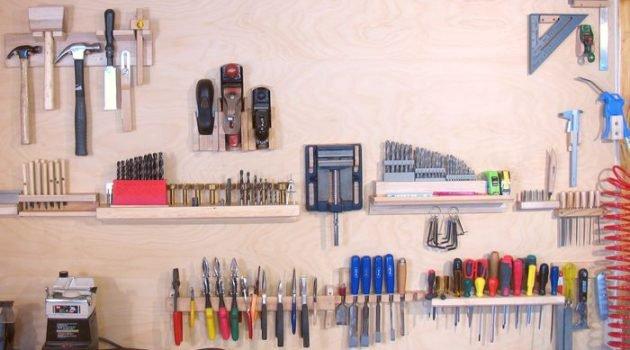DIY ιδέες αποθήκευσης και οργάνωσης των εργαλείων