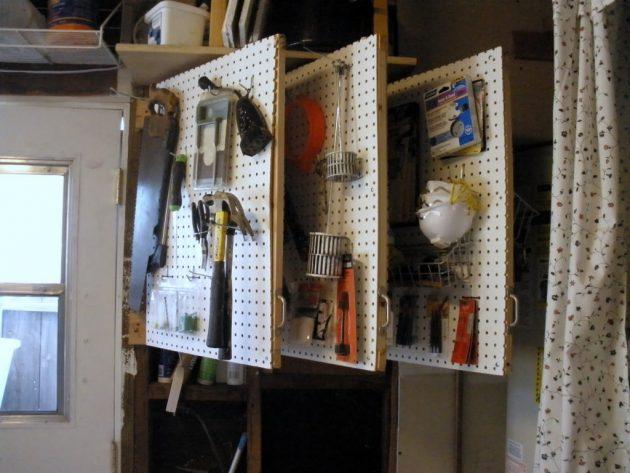 DIY ιδέες αποθήκευσης και οργάνωσης των εργαλείων2