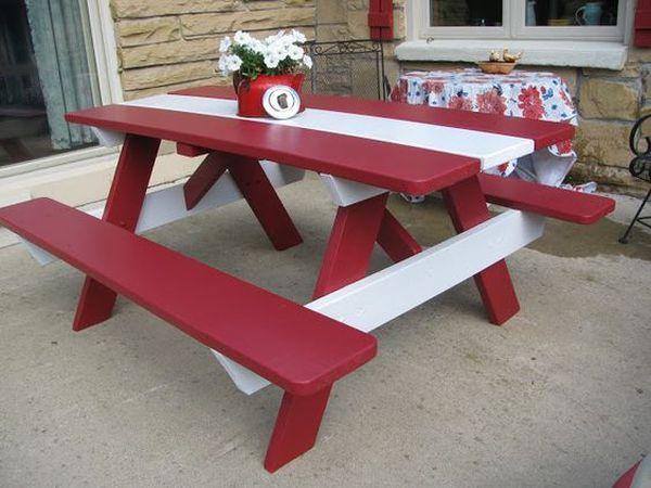 ζωγραφισμένα τραπέζια για τον κήπο10