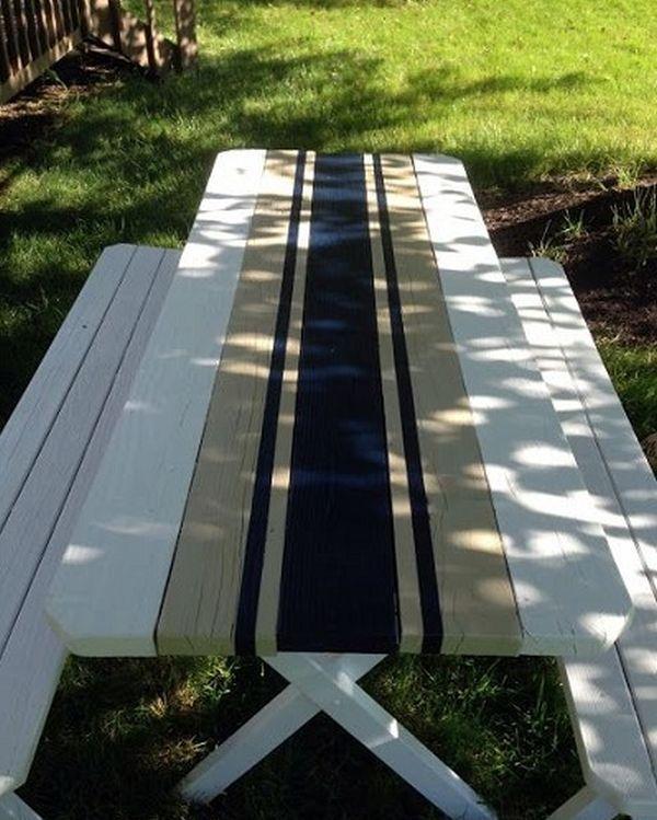ζωγραφισμένα τραπέζια για τον κήπο13