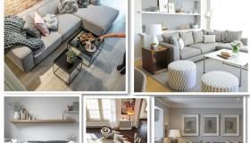 μοντέρνο σαλόνι διακόσμηση