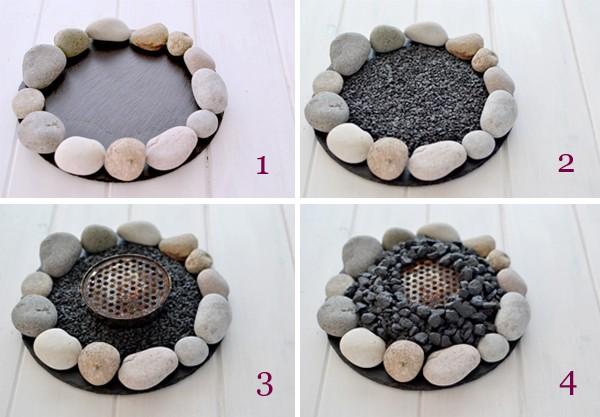 DIY ιδέες από βότσαλα10