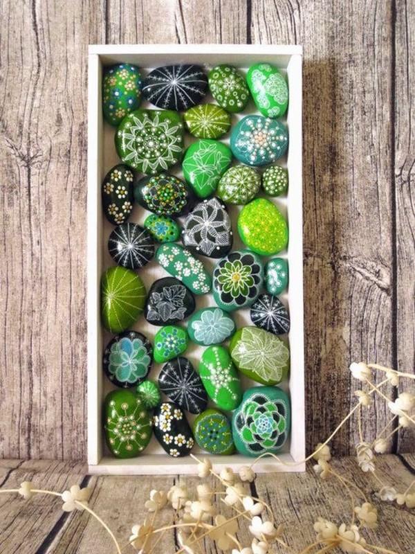 DIY ιδέες από βότσαλα6