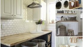 Δωμάτιο πλυντηρίου λειτουργικές ιδέες