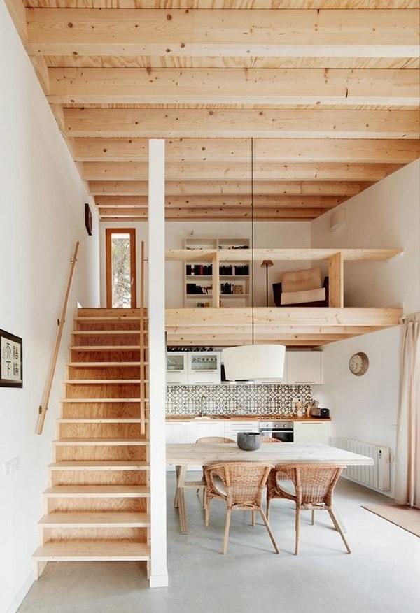 διακόσμηση τύπου loft8