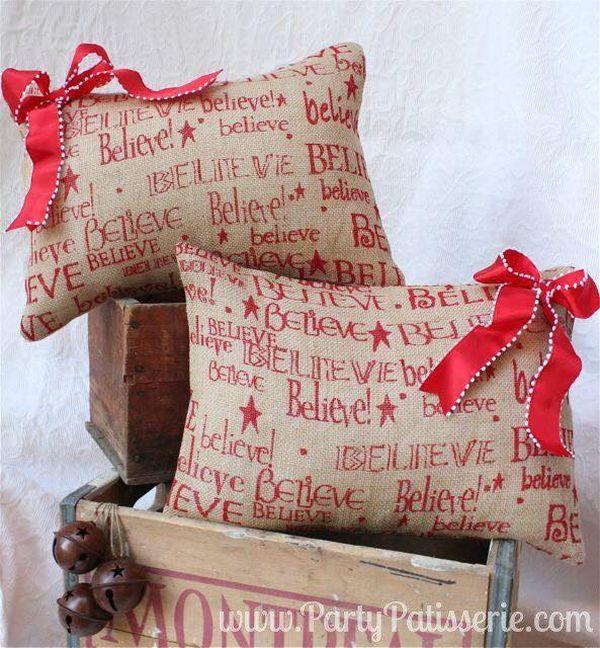 μαξιλάρια από λινάτσα και δαντέλα15