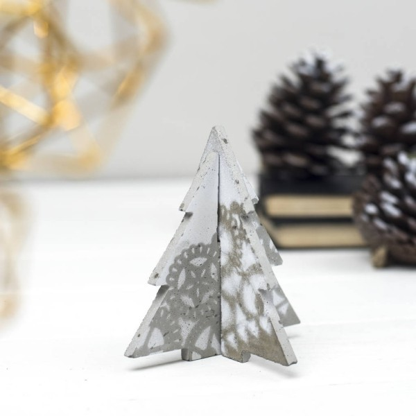 Χριστουγεννιάτικες διακοσμητικές κατασκευές από μπετόν16