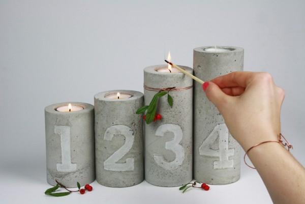 Χριστουγεννιάτικες διακοσμητικές κατασκευές από μπετόν17