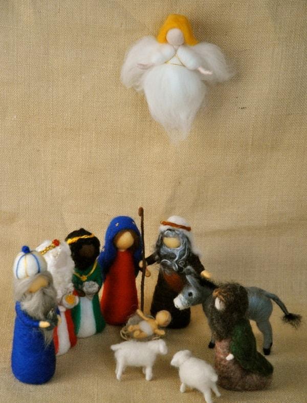 Χριστουγεννιάτικες φάτνες9