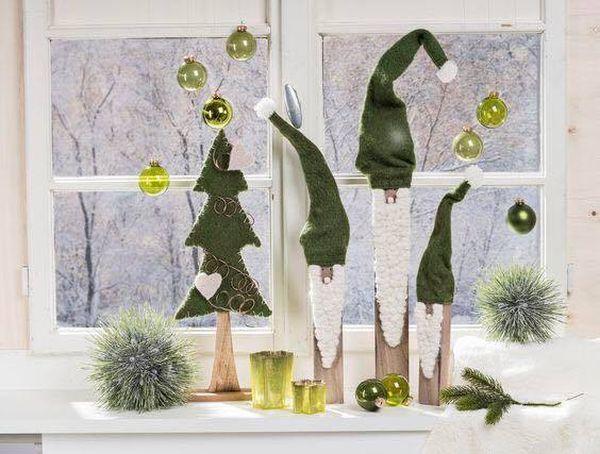 Χριστουγεννιάτικη διακόσμηση παραθύρων11