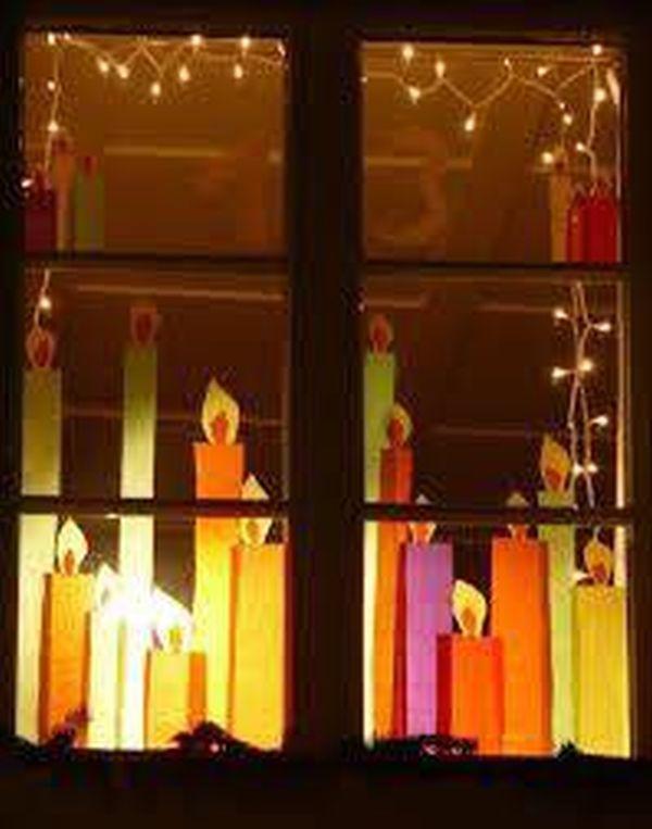 Χριστουγεννιάτικη διακόσμηση παραθύρων13