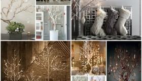 Χριστουγεννιάτικο δέντρο από κλαδιά