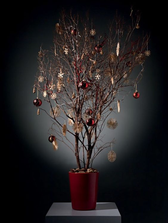 Χριστουγεννιάτικο δέντρο από κλαδιά12