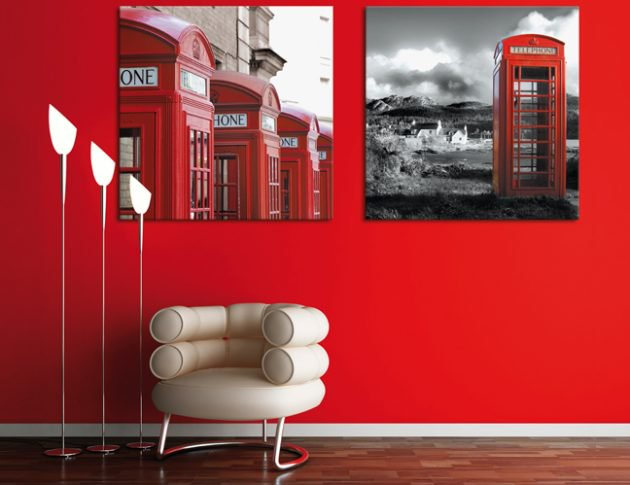 διακόσμηση με κόκκινο χρώμα7