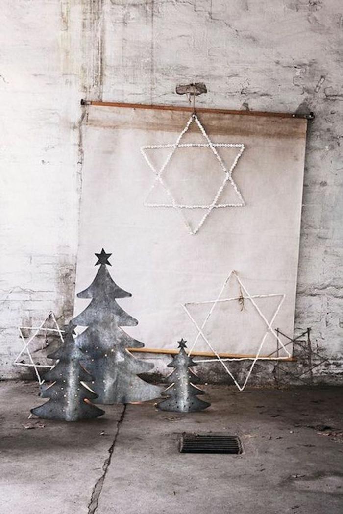 χριστουγεννιάτικη διακόσμηση σε άσπρο - μαύρο23