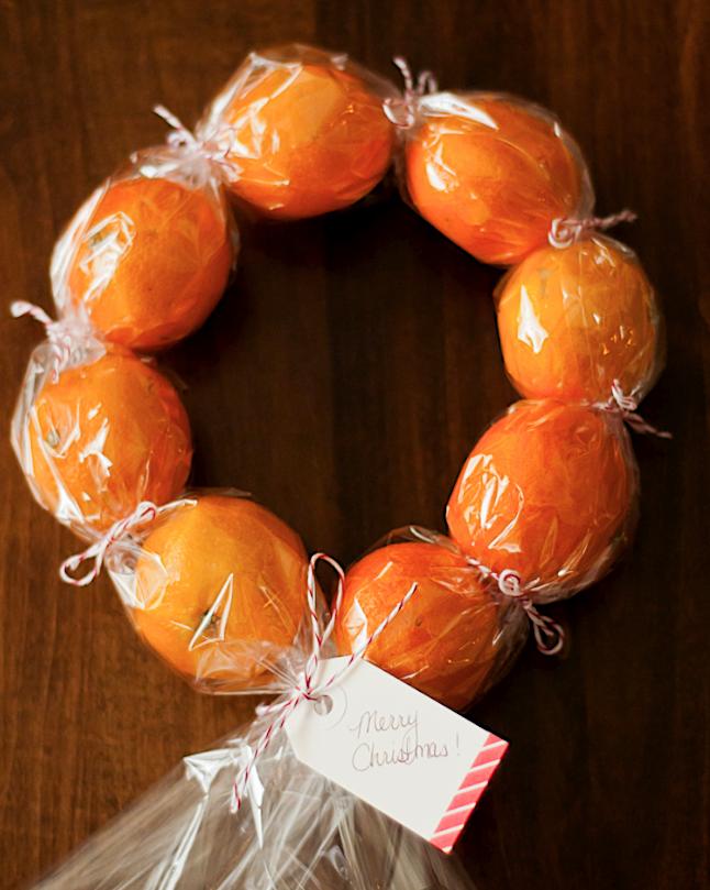 Χριστουγεννιάτικη διακόσμηση με πορτοκάλια13