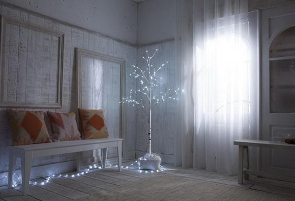 Χριστουγεννιάτικη διακόσμηση με φωτάκια LED10