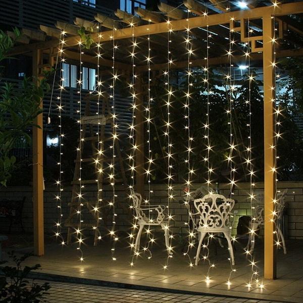 Χριστουγεννιάτικη διακόσμηση με φωτάκια LED5