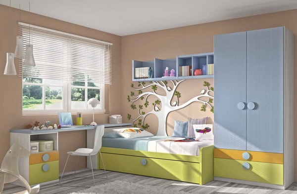 μοντέρνα παιδικά δωμάτια5