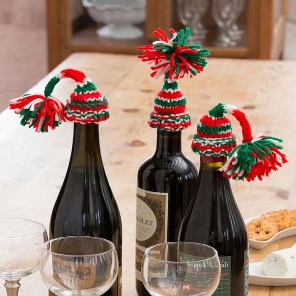 DIY Χριστουγεννιάτικη διακόσμηση από γυάλινα μπουκάλια20