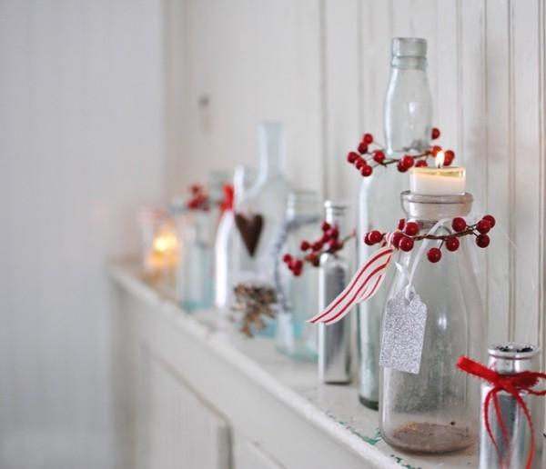 DIY Χριστουγεννιάτικη διακόσμηση από γυάλινα μπουκάλια29